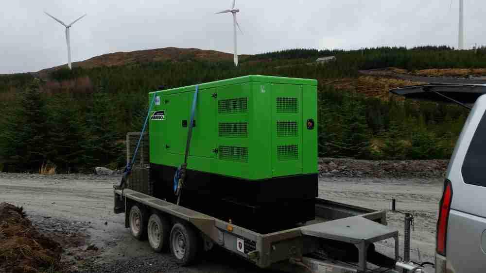 Diesel Electric Power | New & Used Generators | Generator Hire